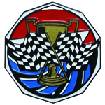 Race Checkered Flag Medal