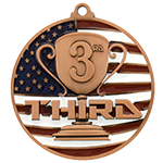 3rd Place (Bronze Only)